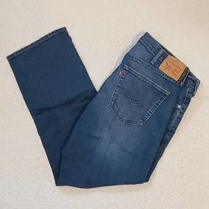 LEVI'S 559 | Men's W40xL32 Relaxed Blue Jeans